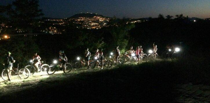 Notturna in muontain bike Rimini