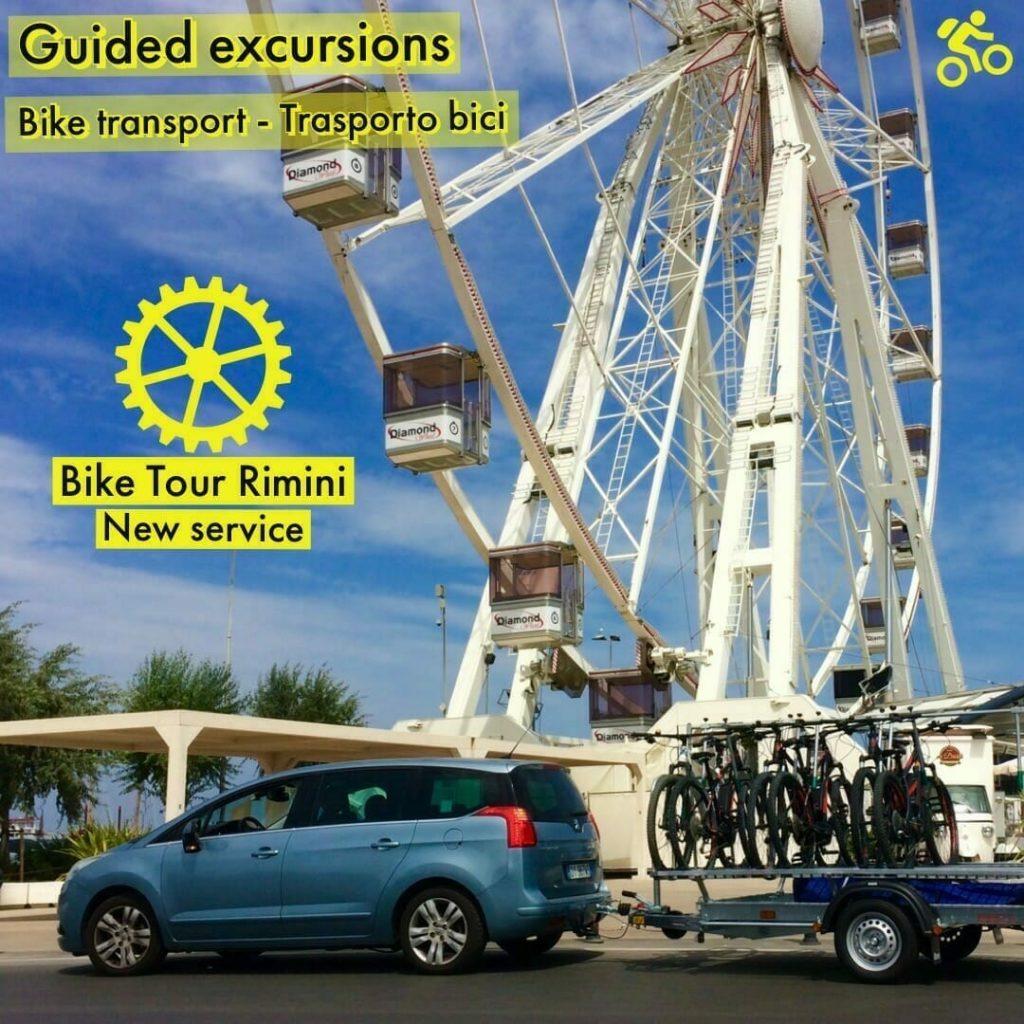 Noleggio Carrello Trasporto Biciclette E Ebike