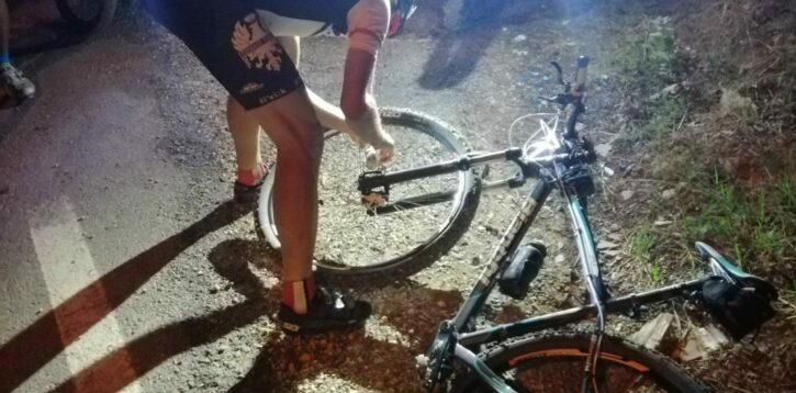 Foratura no problem con bicicletta a noleggio