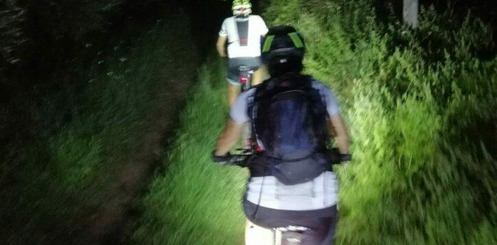Notturna bicicletta e tagliatella