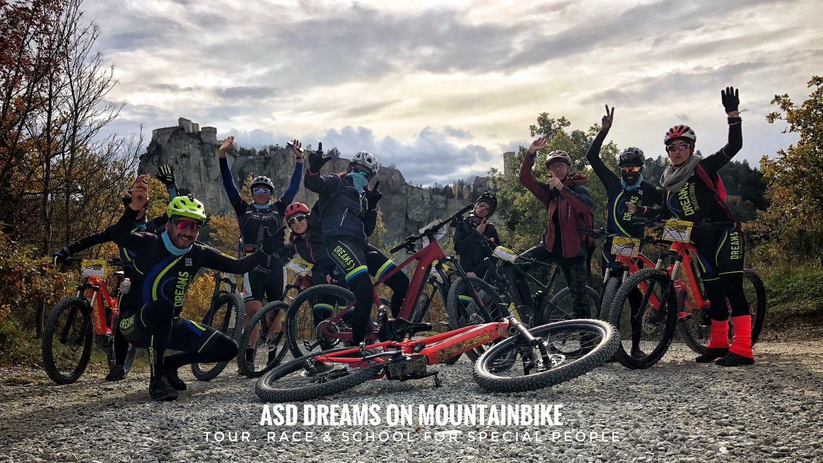 Dall'Etna a San Leo per una pedalata con BTR