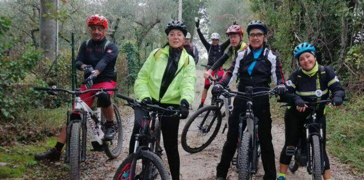 L'inverno in Mountain Bike
