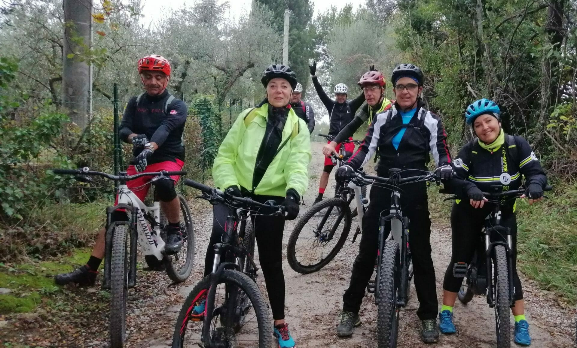 L'inverno in Mountain Bike