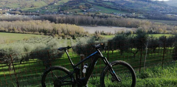 La curiosità viene pedalando in mountain