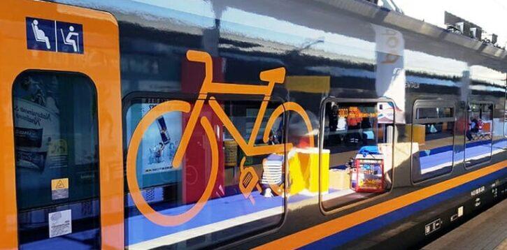 Bicicletta e treno abbinamento perfetto